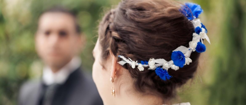 accessoires de mariage en plume